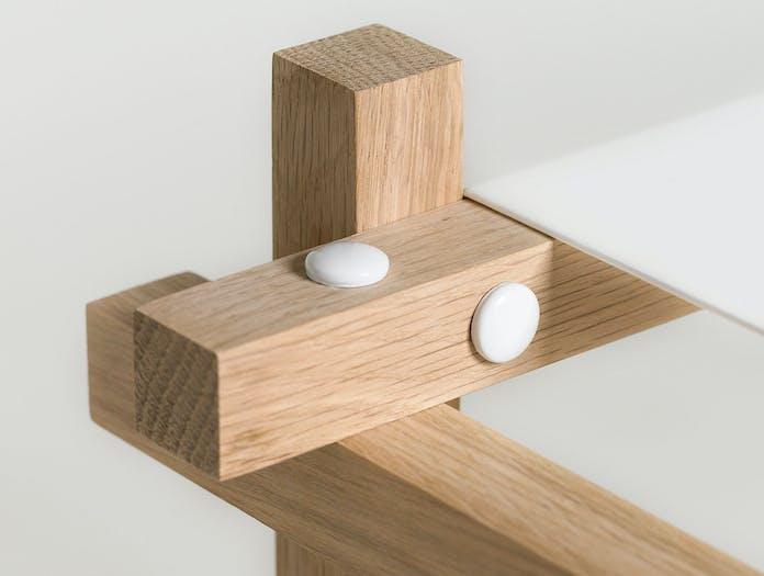 Hay Woody Shelves Detail