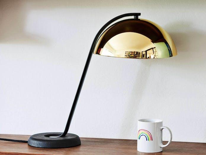 Hay cloche table brass lamp ls