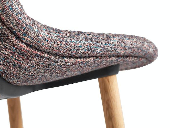Hay neu bar stool upholstered