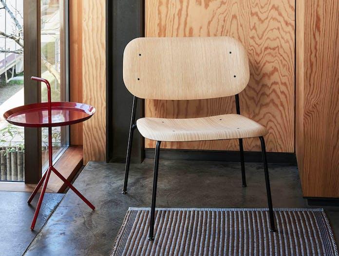 Hay soft edge 10 lounge chair lifestyle