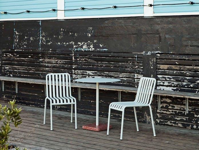 Hay terrazzo table round ls1