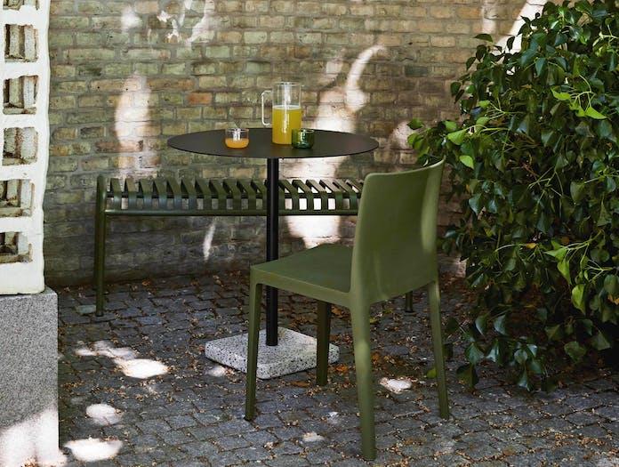 Hay terrazzo table round ls2