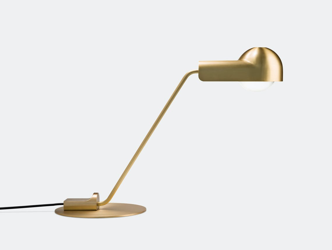 Karakter Domo Table Lamp Brass Joe Colombo