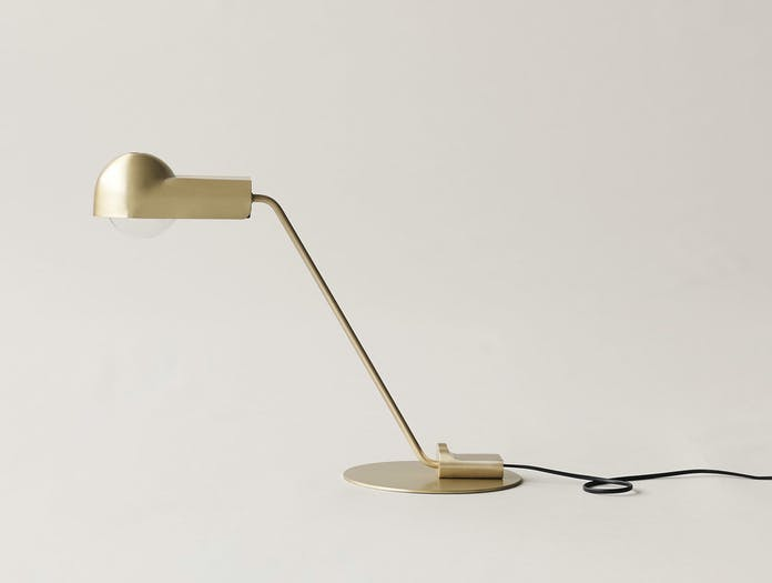 Karakter Domo Table Lamp Brass 2 Joe Colombo