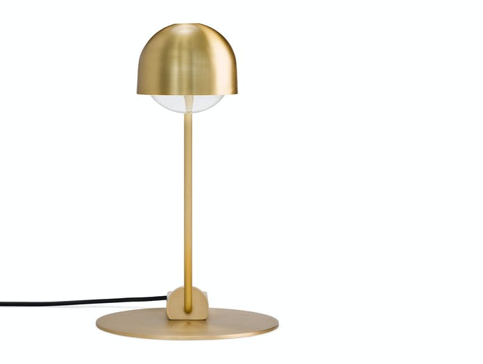 Karakter Domo Table Lamp Brass 4 Joe Colombo