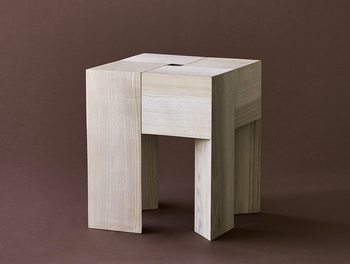 Karakter Tri Angle Stool Side Table 3 Aldo Bakker