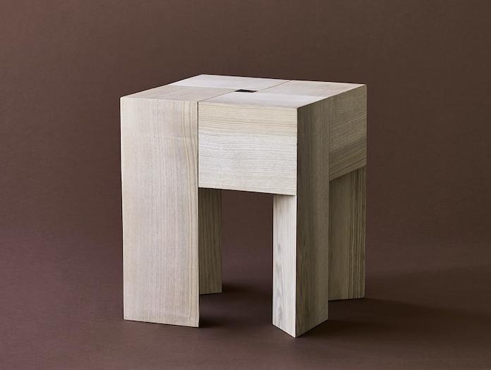 Karakter Tri Angle Stool Side Table 3 Aldo Bakker