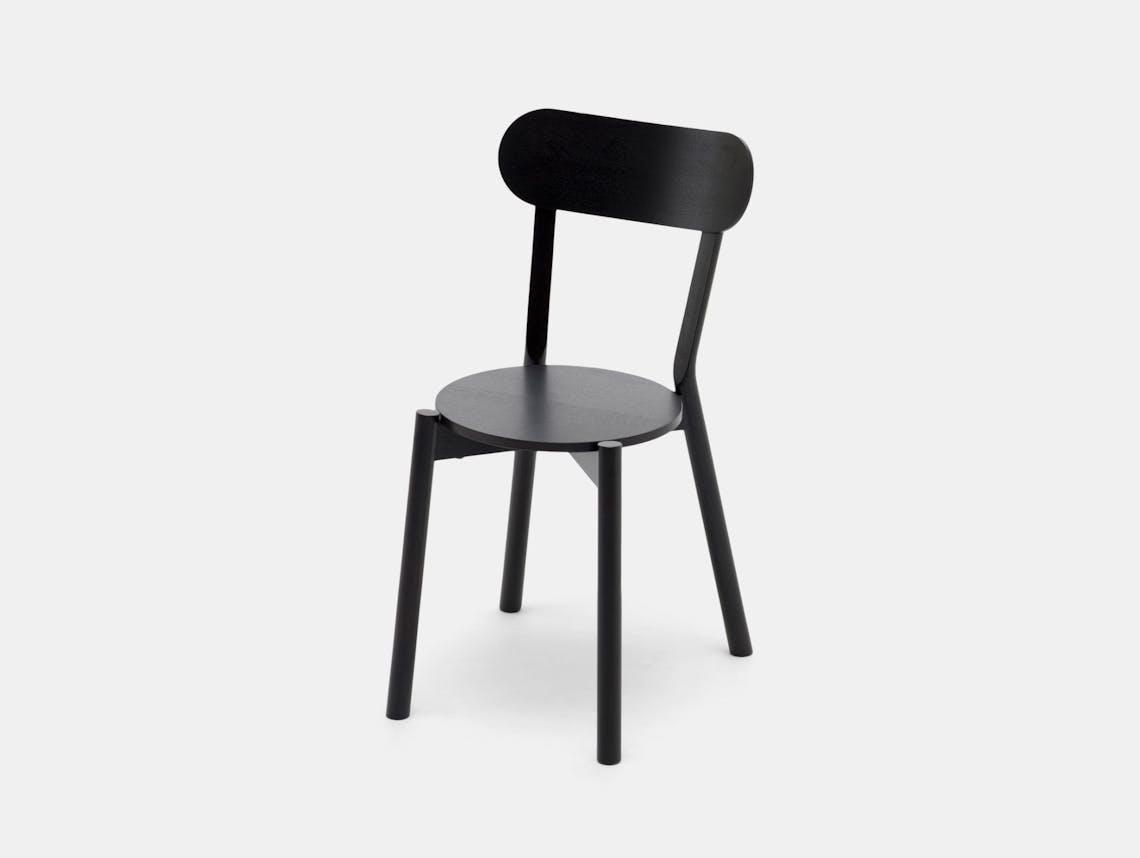 Karimoku Castor Chair Black Big Game