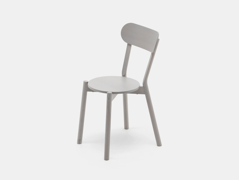 Karimoku Castor Chair Grey Big Game