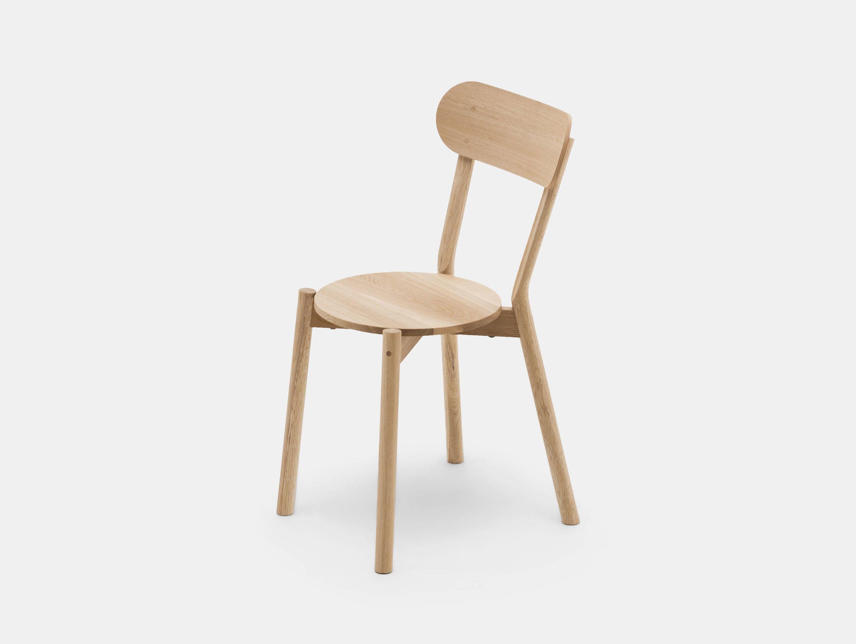 Karimoku Castor Chair Oak Big Game