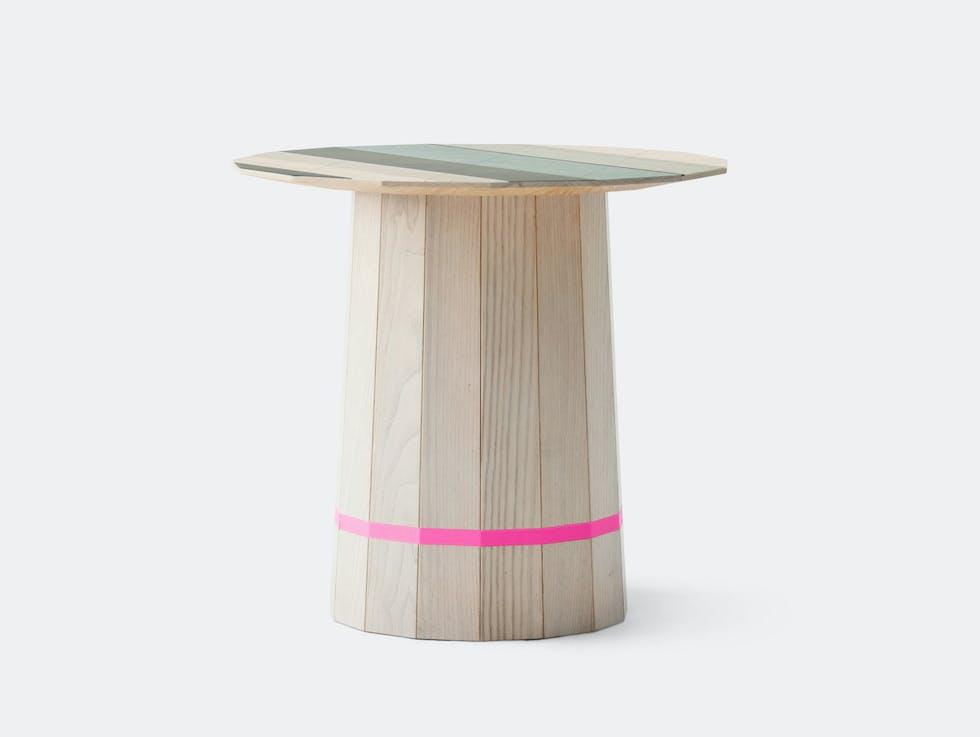 Colour Wood Low Table Colour Grid image