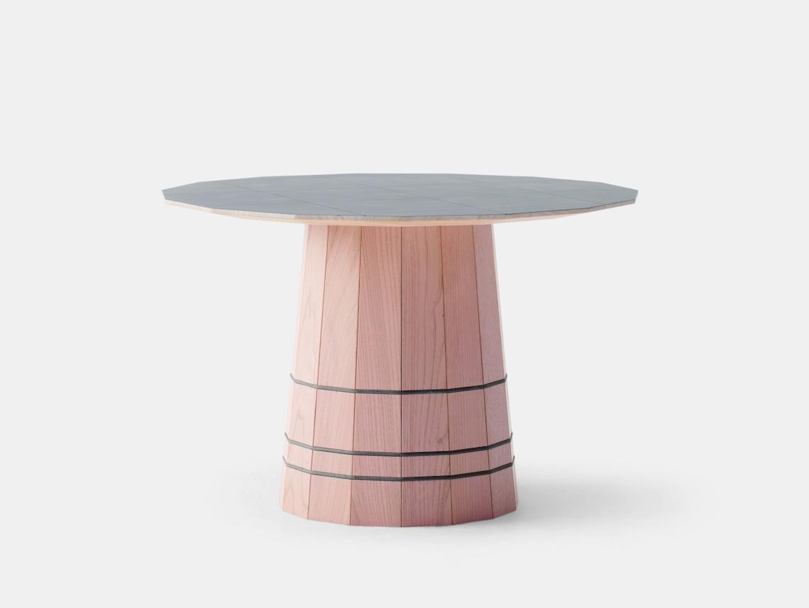 Karimoku Colour Wood Dark Grid Low Table Scholten And Baijings