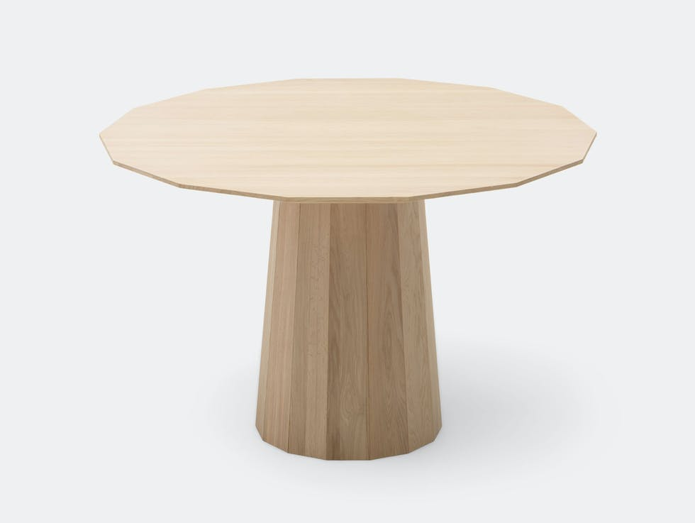 Colour Wood Dining Table Large image