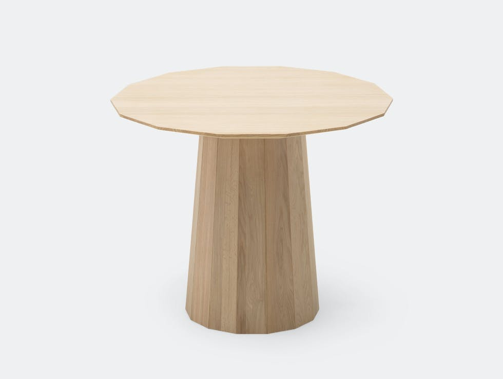 Colour Wood Dining Table Small image