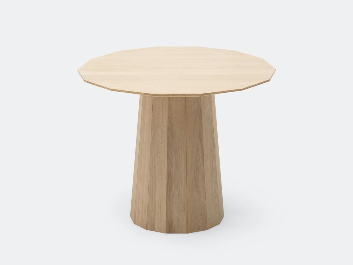 Karimoku Colour Wood Dining Table Pale Natural 95 Scholten Baijings