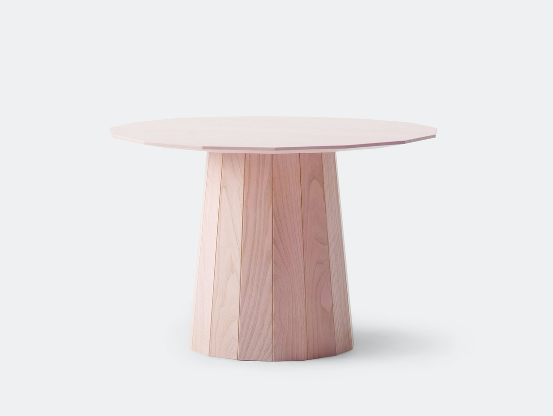 Karimoku Colour Wood Pink Low Table Scholten And Baijings