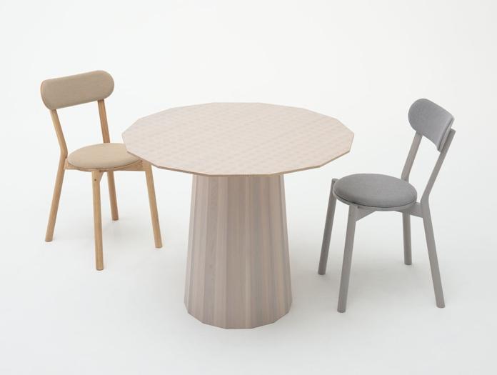 Karimoku Castor Chairs Upholstered Big Game