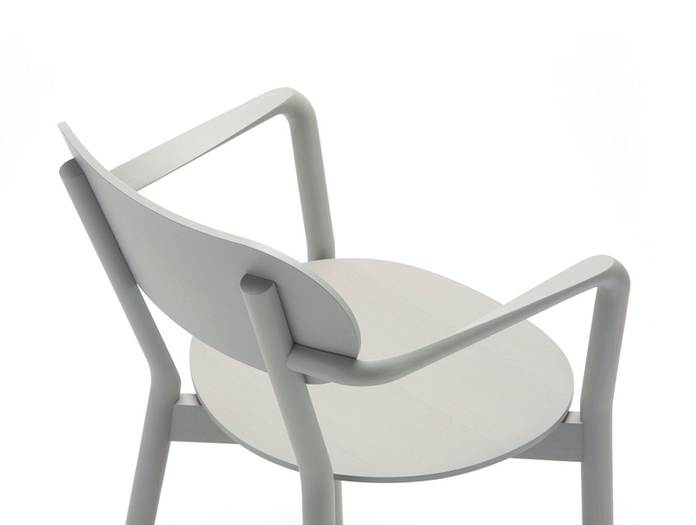 Karimoku Castor Low Chair Grey Detail Big Game
