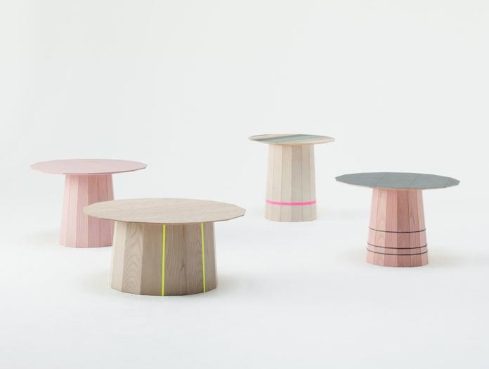 Karimoku Colour Wood Low Tables Scholten And Baijings
