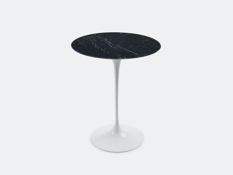 Knoll Eero Saarinen Side Table Black Marble