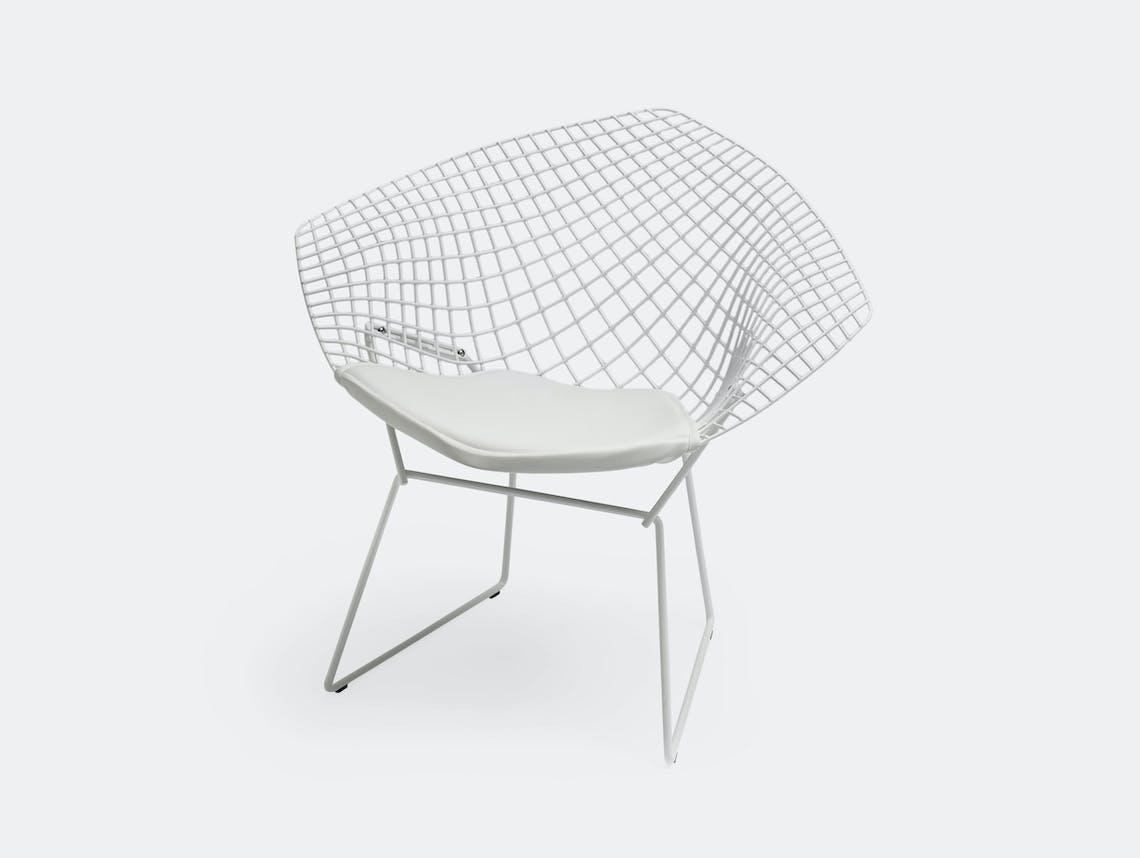 Knoll Harry Bertoia Diamond Chair White