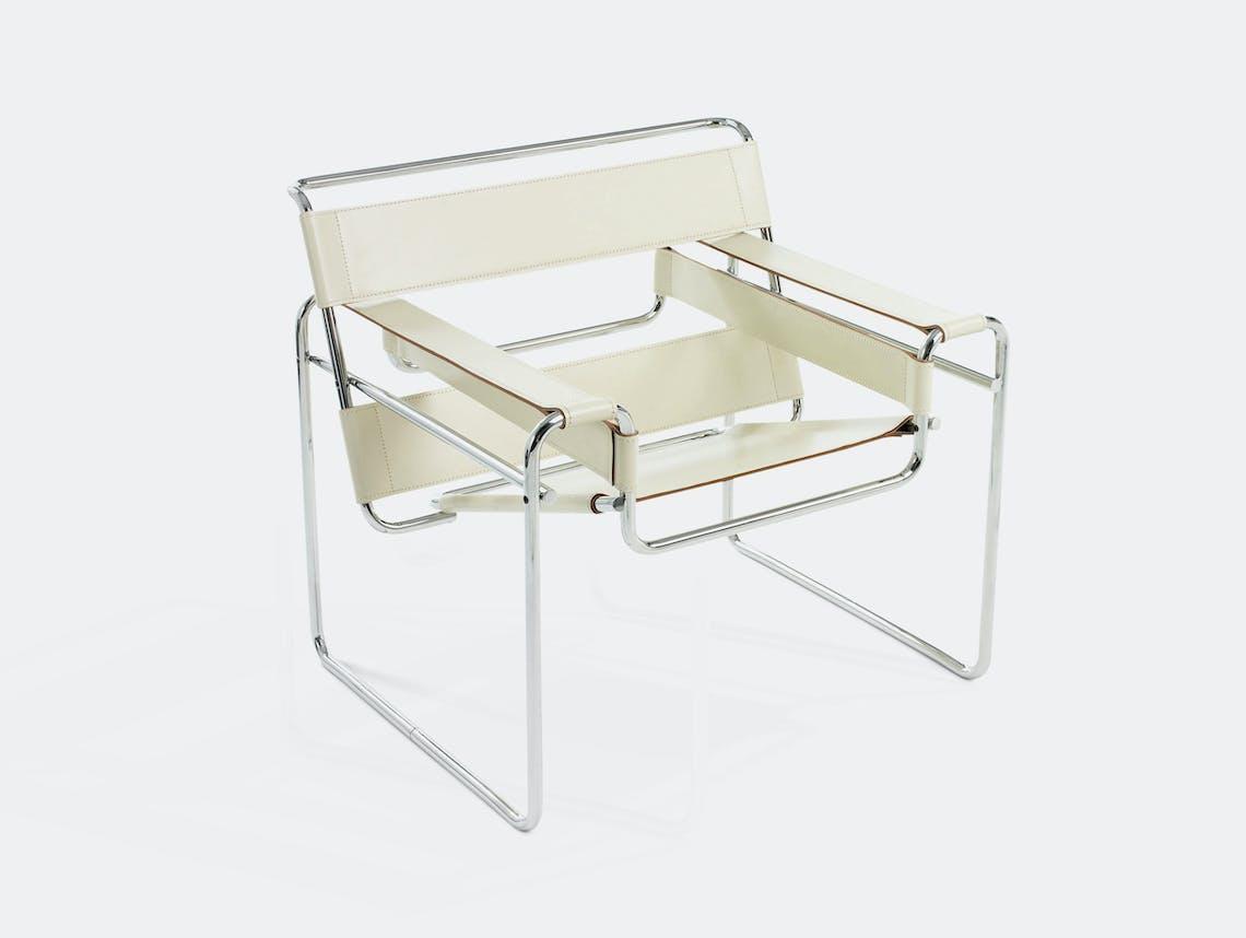 Knoll Wassily Chair Beige Marcel Breuer