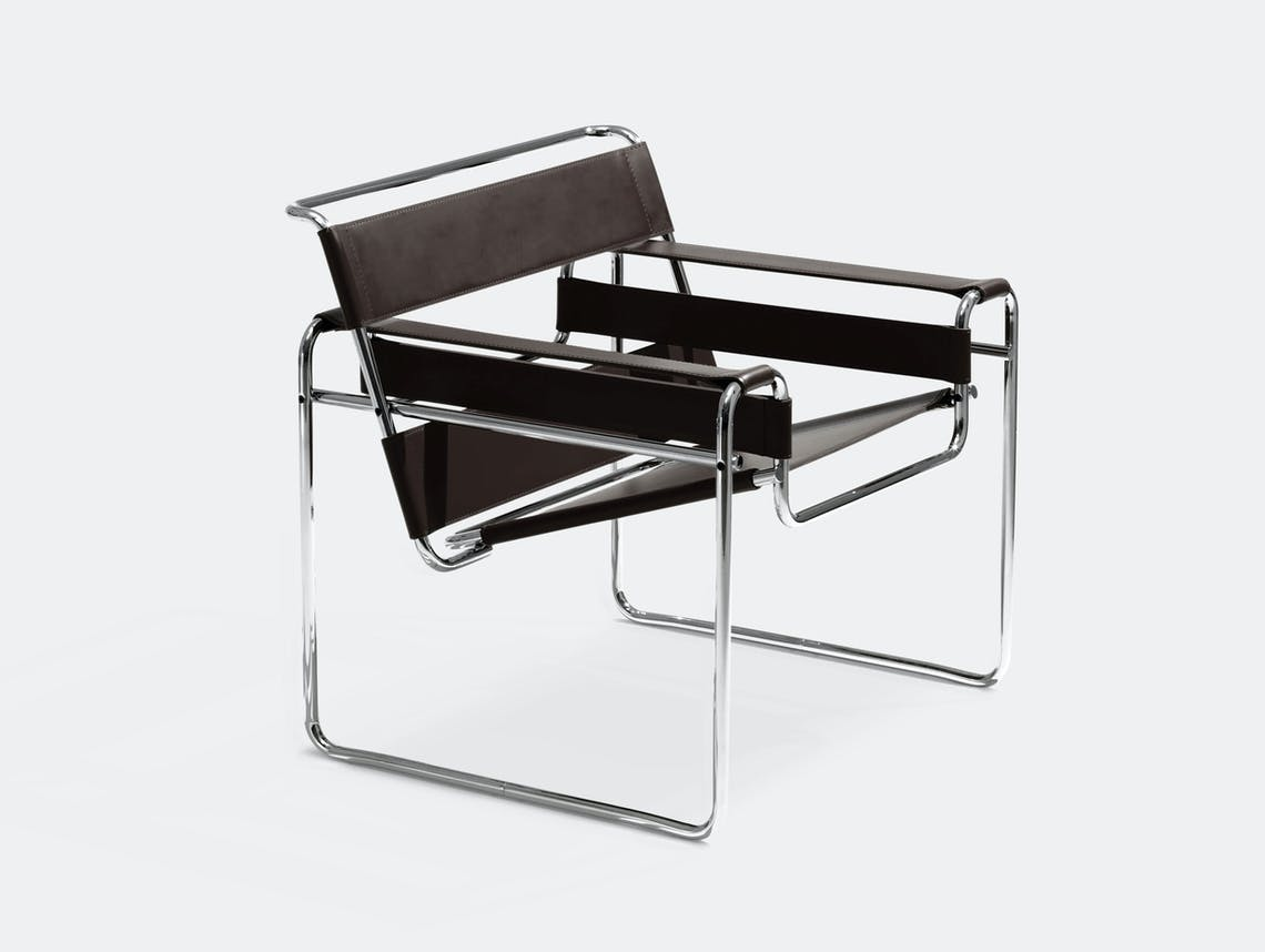 Knoll Wassily Chair Black Marcel Breuer
