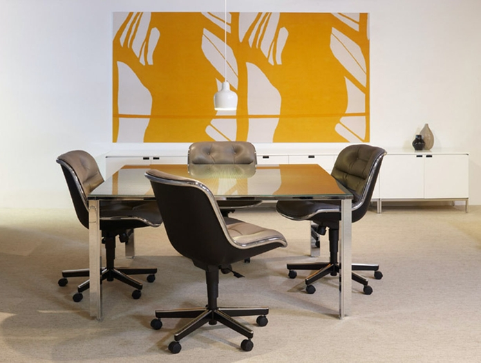 Knoll Charles Pollock Executive Chairs