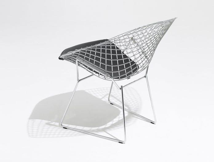Knoll Harry Bertoia Diamond Chair Seat Upholstered