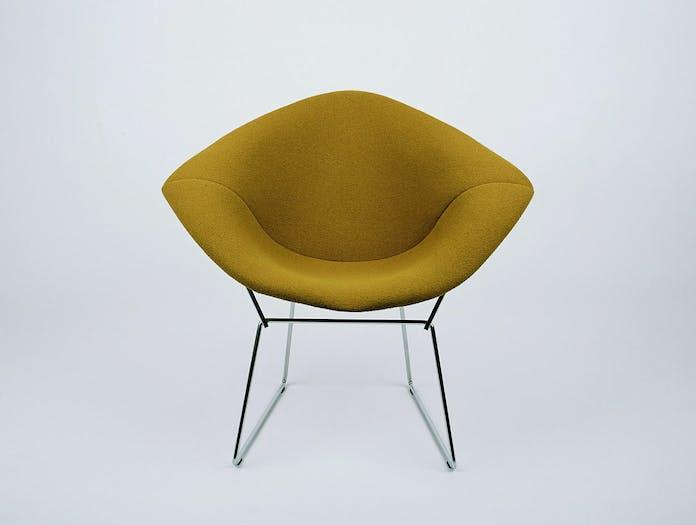Knoll Harry Bertoia Diamond Chair Upholstered