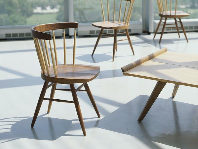 Knoll Nakashima Chair And Table