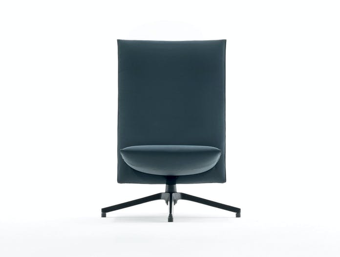 Knoll Pilot Lounge Chair Front Edward Barber Jay Osgerby