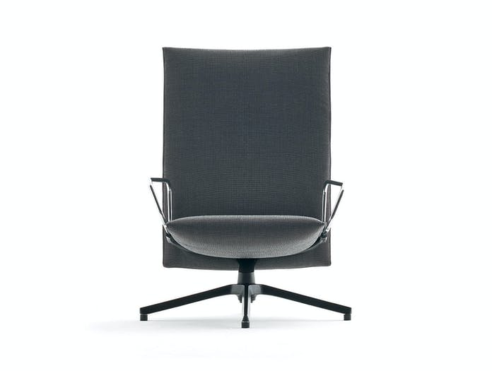 Knoll Pilot Lounge Chair Front Arms Edward Barber Jay Osgerby
