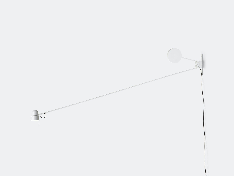 Luceplan Counterbalance Wall Light White Daniel Rybakken