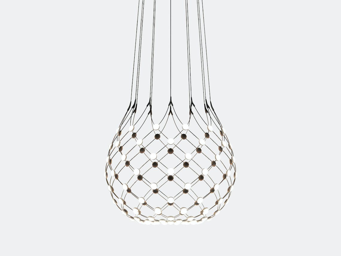 Luceplan Mesh Suspension Light