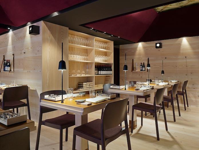 Luceplan Ascent Table Lamps Restaurant Daniel Rybakken