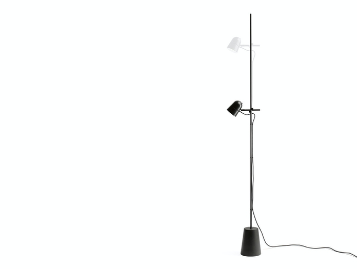 Luceplan Counterbalance Floor Light Head Adjustment Daniel Rybakken