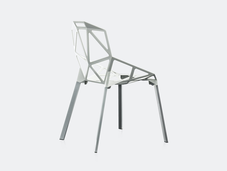 Magis Chair One White Konstantin Grcic