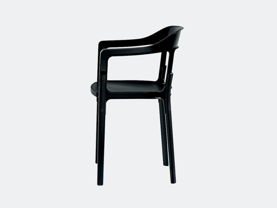 Magis Steelwood Chair Black Ronan And Erwan Bouroullec