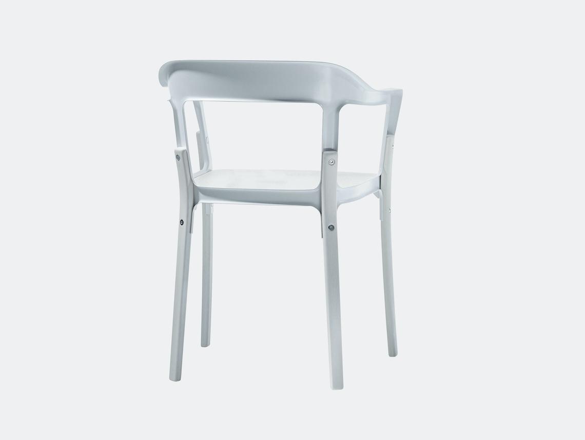 Magis Steelwood Chair White Ronan And Erwan Bouroullec