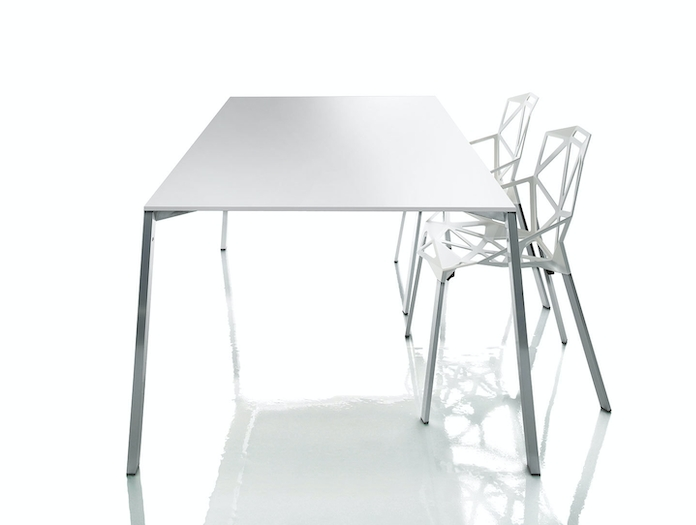 Magis Chair One Table White Konstantin Grcic