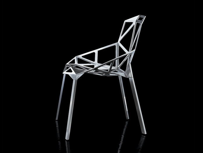 Magis Chair One Aluminium Konstantin Grcic