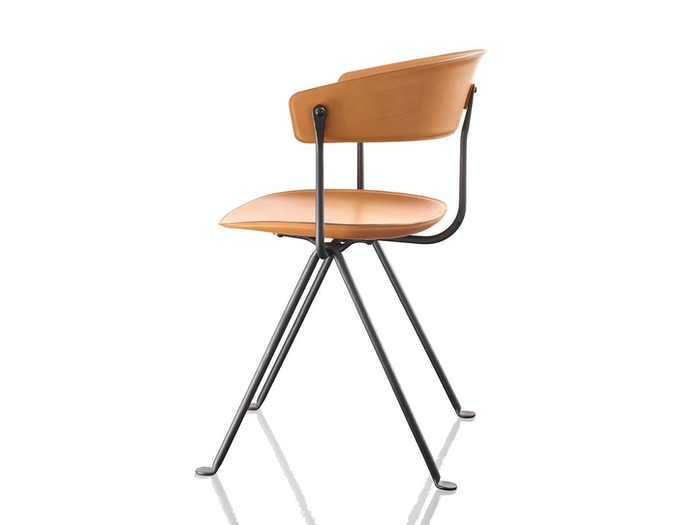 Magis Officina Chair Leather Ronan And Erwan Bouroullec
