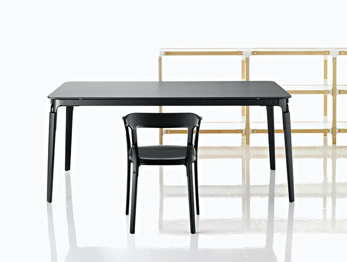 Magis Steelwood Chair Black Ronan Erwan Bouroullec