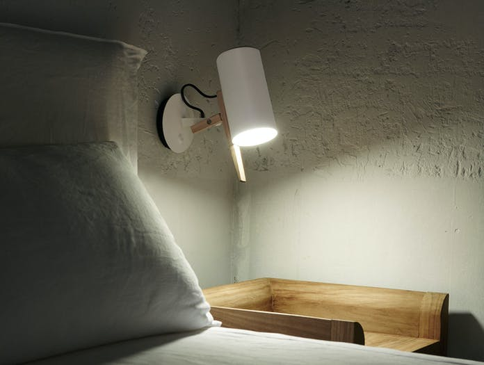 Marset Scantling Wall Light Bedside Mathias Hahn