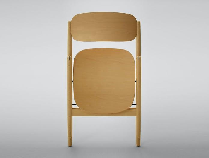 Maruni HIROSHIMA folding chair detail 2