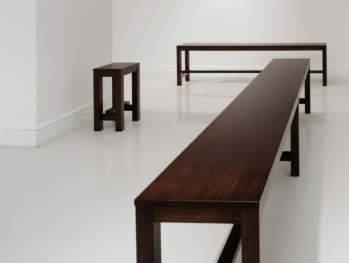 Maruni asian stool bench 5