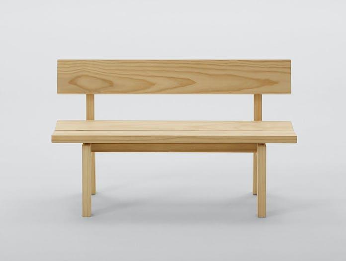 Maruni botan bench 120 pine 1