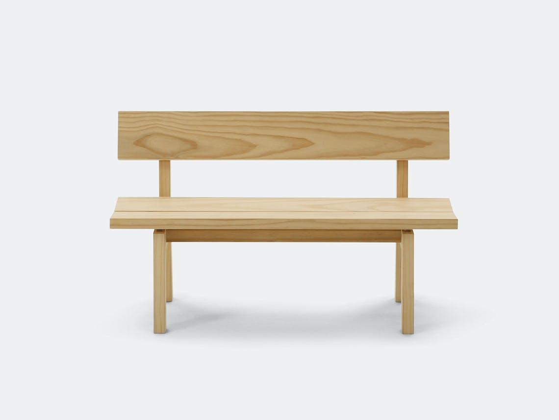 Maruni botan bench 120 pine 5