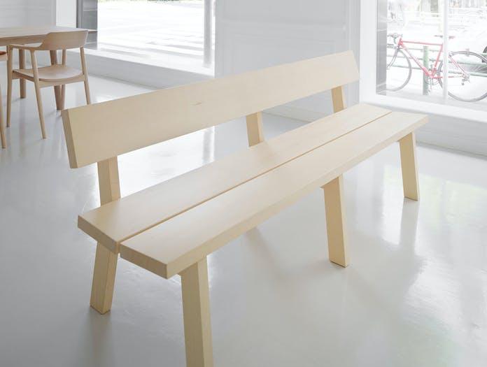 Maruni botan bench 210 pine 2